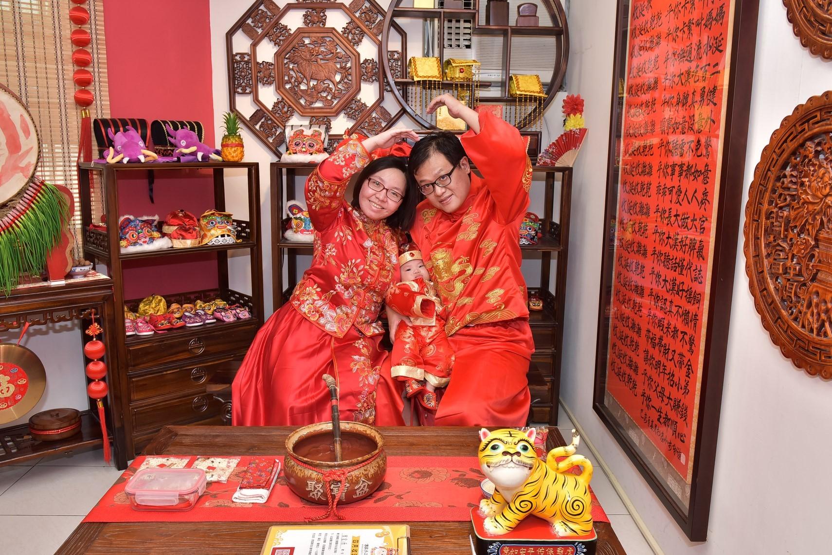 2021-10-16張家,古裝禮服(中國風格)全家福合照照片集