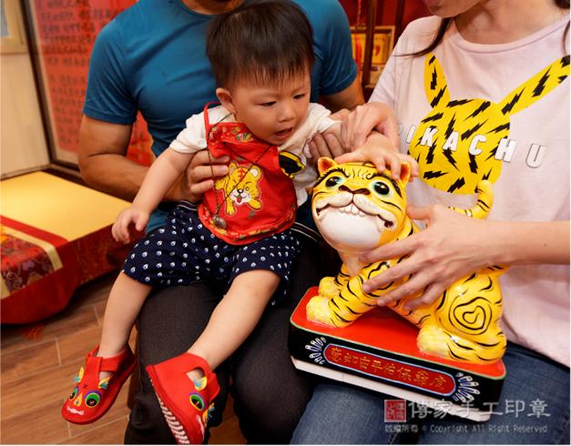 傳家的虎爺款式非常可愛,深受爸媽喜愛照