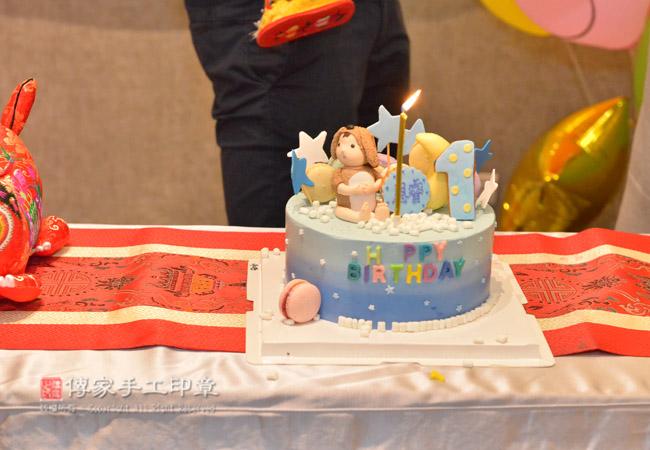 好可愛的生日蛋糕寶貝週歲生日慶生