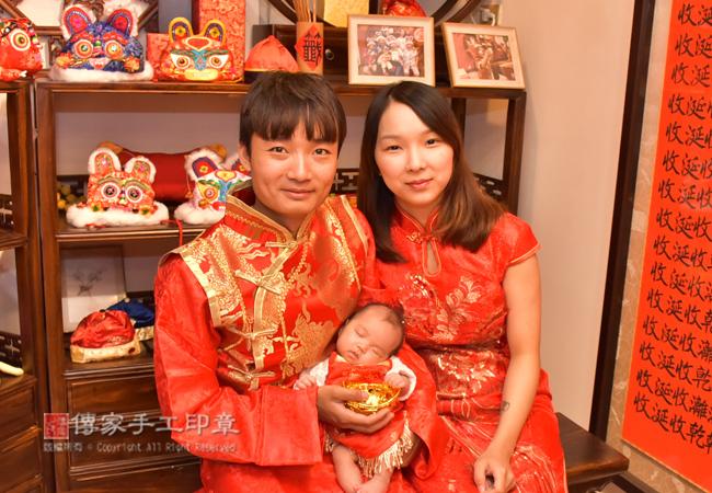 傳家古禮儀式非常正宗和到地。融合「北台灣、中台灣、南台灣」的嬰兒古禮、儀式、吉祥話照