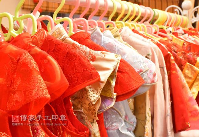 傳家古裝禮服,有很多給小寶貝穿的古裝禮服。包含:中式禮服、日式禮服、韓式禮服圖