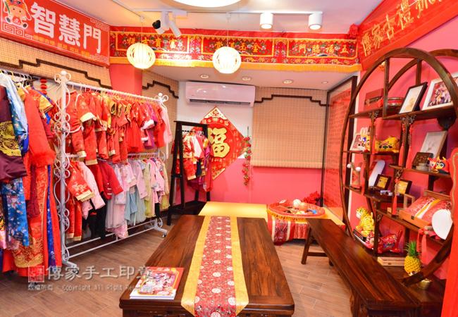 古禮會場有很多古裝禮服,包含日式禮服、韓式禮服、中式禮服圖