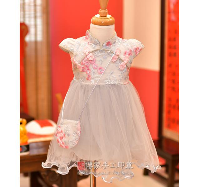 女生嬰兒古裝禮服圖2