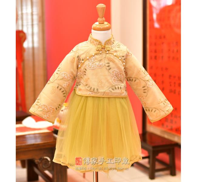 女生嬰兒古裝禮服圖3