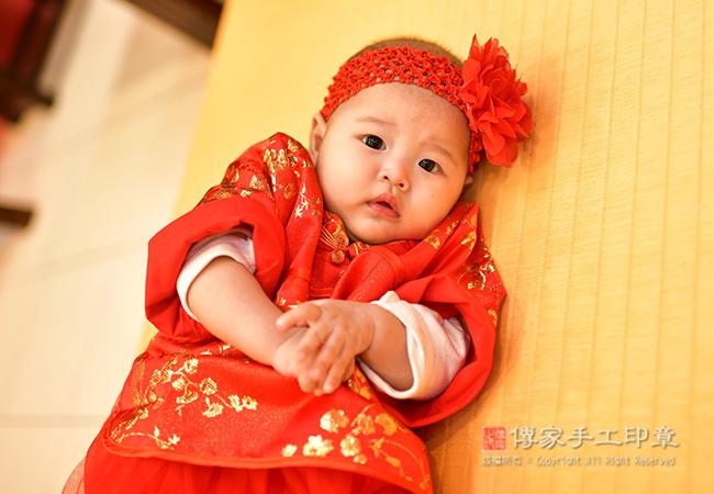 吟唱朗誦嬰兒週歲成長祝福三首歌照