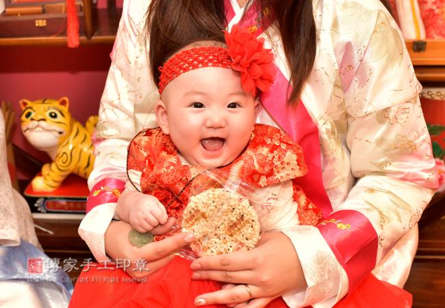 吃米香的收涎儀式照