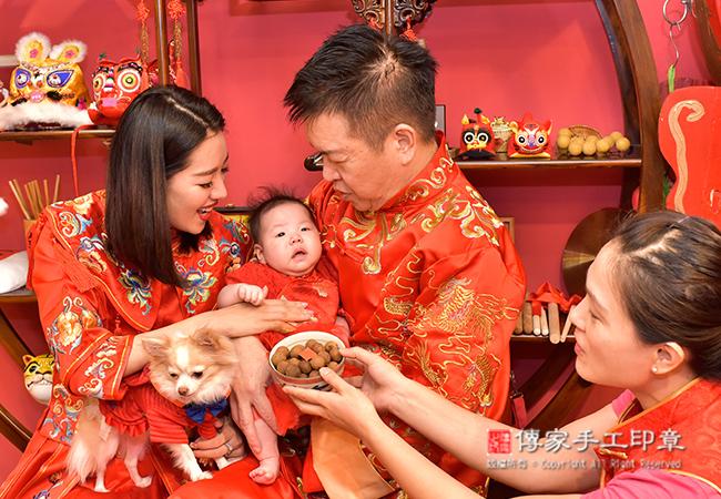 桂圓祝福儀式