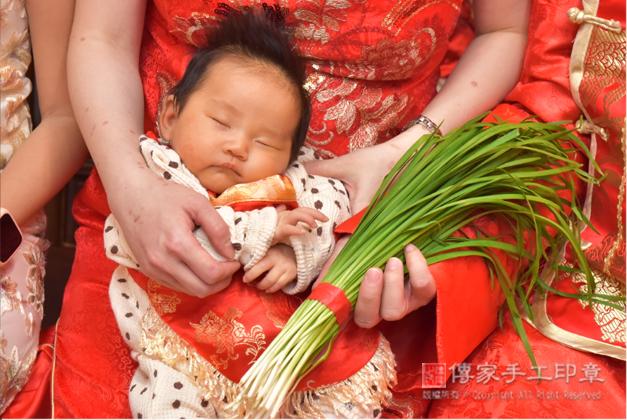 儀式韭菜,剃頭祝福儀式